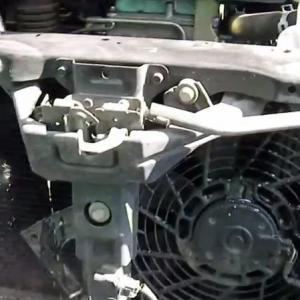 мойка радиатора на Паджеро