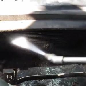 промывка сот радиатора